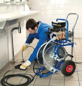 чистка труб канализации
